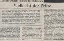 Ausstellung Herzen im Schmuck Wochenblatt Mai 1993