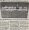 Ausstellung Feuer Wasser Erde Luft Mittelbayerische Zeitung 2 Oktober 1995