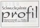 Anzeige Broschüre Einkaufen in Regensburg 1996