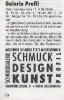 Anzeige Schmuckgalerie Profil Quelle unbekannt 1998