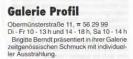 Anzeige Schmuckgalerie Profil Regensburg Kultur 1998