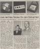 Ausstellung Foto Schmuck Foto Mittelbayerische Zeitung Juni 2000