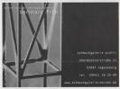 Anzeige Schmuckgalerie Profil Die Strenge Das Spiel und der Raum dazwischen September 2001