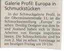 Ausstellung Europa Mittelbayerische Zeitung April 2002