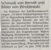 Ausstellung Was habe ich mit Schmuck zu tun Volume 2 Mittelbayische Zeitung Oktober 2002