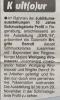 Ausstellung Was habe ich mit Schmuck zu tun Volume 2 Quelle unbekannt Oktober 2002