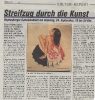 Ausstellung Federleicht an Hals um Schulter Rundschau September 2005