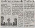Ausstellung Westhaus Hilgenfeld Pizzini Mittelbayerische Zeitung Mai 2007