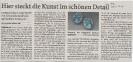 Ausstellung No More Less Mittelbayerische Zeitung September 2010