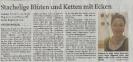 Ausstellung Hagmann Hiller Mittelbayerische Zeitung September 2012